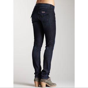 Hudson Sz 28 Collin Flap Skinny Jeans EUC